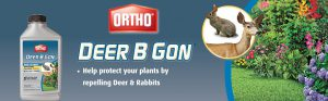 Ortho Deer B Gon Concentrate Review Stop the Deer Damage Banner
