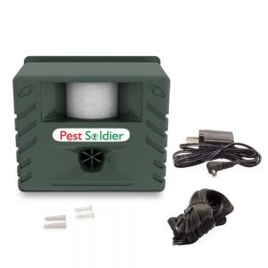Pest Soldier Sentinel Review The Best Ultrasonic Deer Repellent - AC Adapter