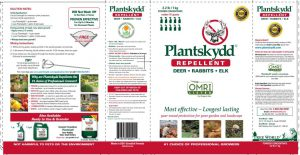 Plantskydd Deer Repellent Concentrate Review This Stuff Works Label