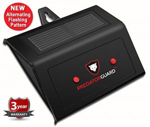 Predator Guard Solar Powered Predator Deterrent Light