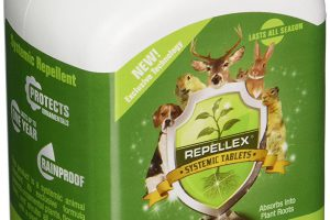 Repellex Systemic Deer Repellent Tablets Review A Unique Way to Repel Deer